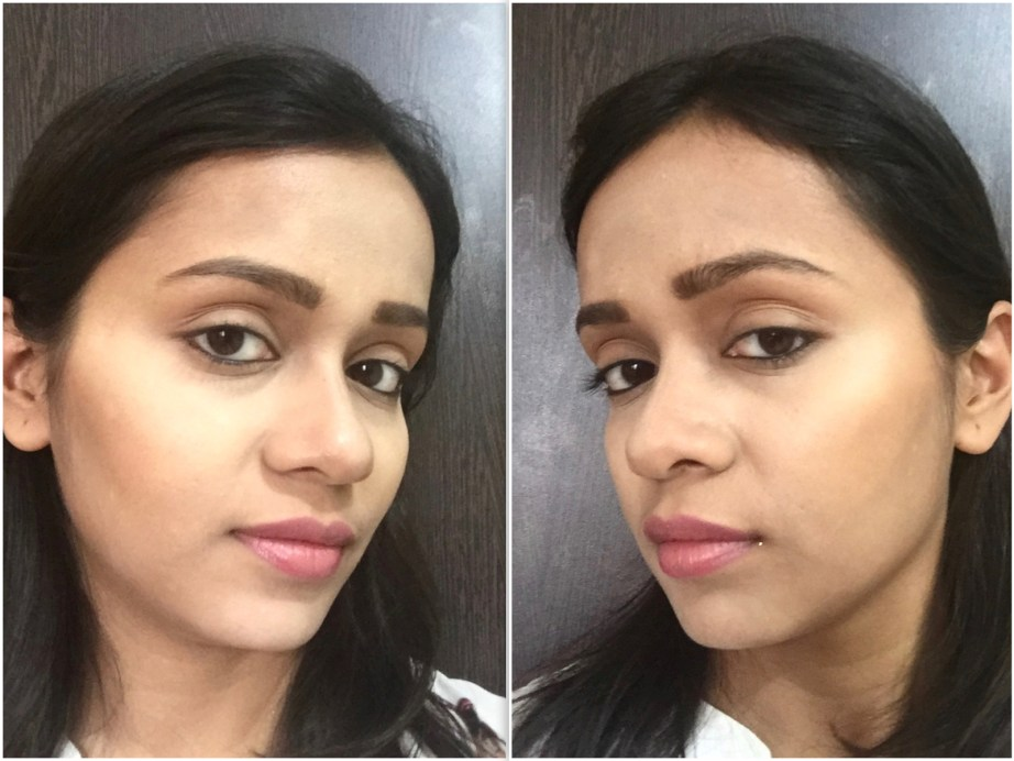 Makeup Revolution Ultra Cream Contour Palette Review Swatches demo