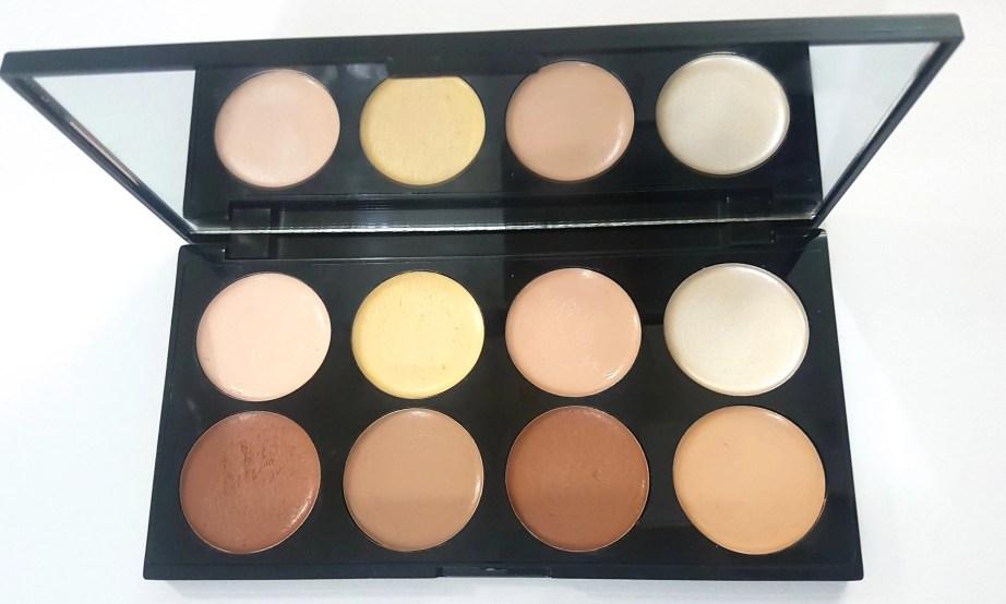 Makeup Revolution Ultra Cream Contour Palette Review Swatches mbf blog