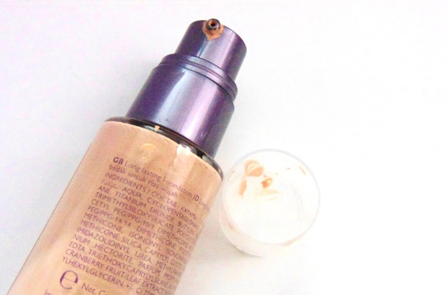 Oriflame The One Everlasting Foundation Review Swatches bottle