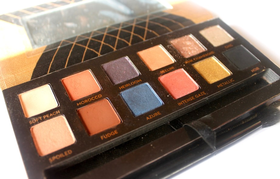 Anastasia Shadow Couture World Traveler EyeShadow Palette Review MBF Blog