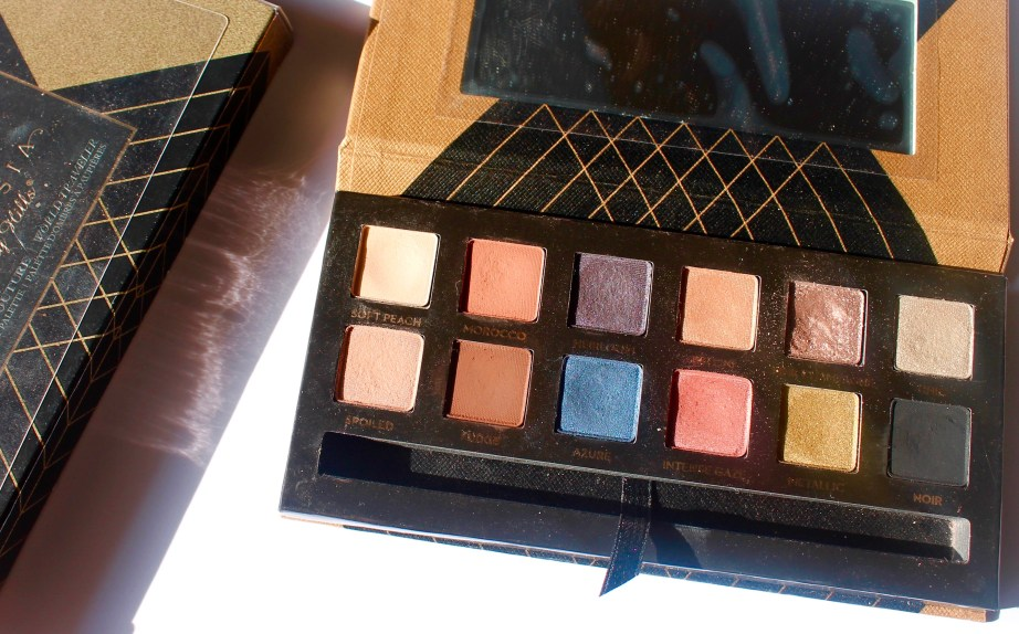 Anastasia Shadow Couture World Traveler EyeShadow Palette Review Swatches MBF Blog