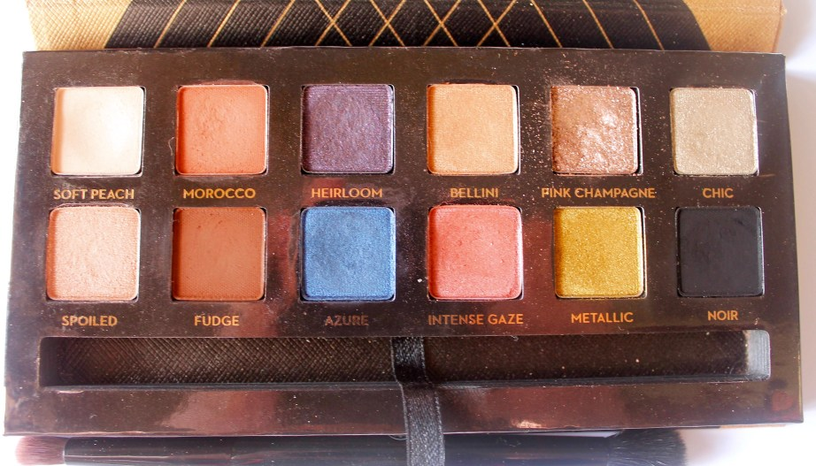 Anastasia Shadow Couture World Traveler EyeShadow Palette Review Swatches all shades