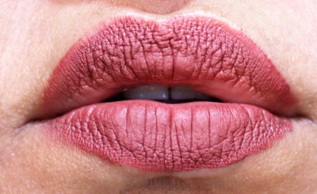 Lipland Matte Liquid Lipstick Baked by Amrezy Review Swatches After 4 5 hours