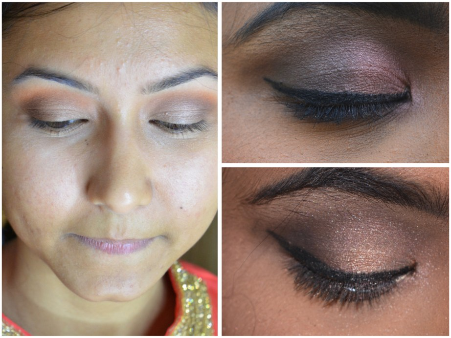 MAC Eyeshadow x 15 Warm Neutral Palette Review Swatches MBF Blog Eye Makeup Look