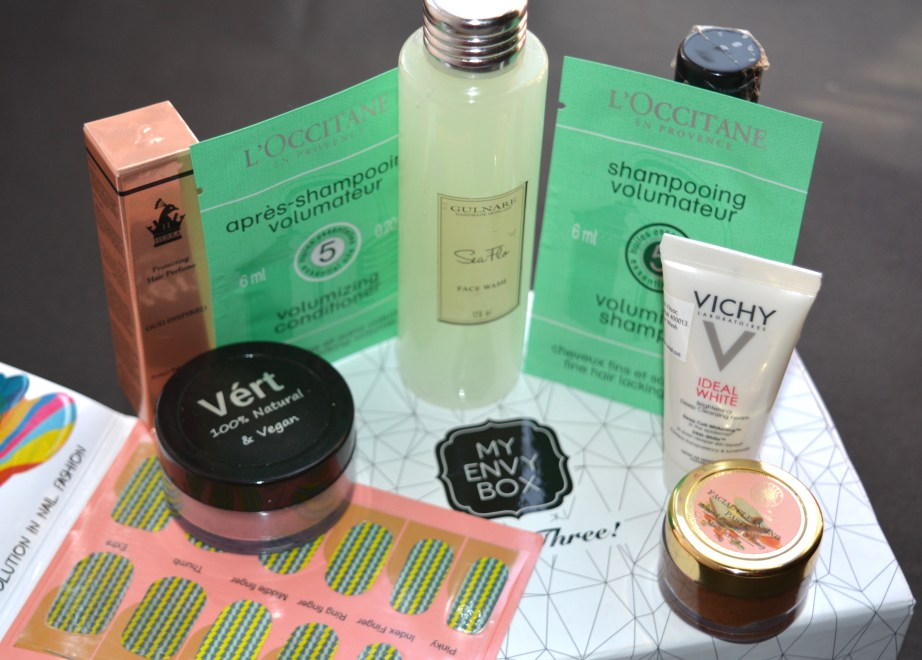 My Envy Box October 2016 3rd Anniversary Edition Review MBF