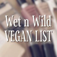 Wet n Wild Vegan List