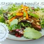 Thai Steak Salad with Peanut Dressing