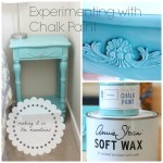 Experimenting with Chalk Paint
