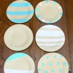 DIY Painted Plates @ making it in the mountains