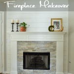 Fireplace Makeover – Guest Post