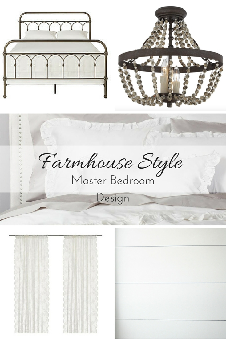 How I'm designing the Farmhouse Style Master Bedroom of my dreams (and then making it come to life in just six weeks)!
