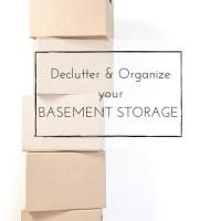 Declutter & Organizeyour BASEMENT STORAGE-2