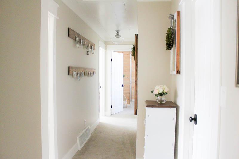 A Farmhouse Style Hallway Makeover