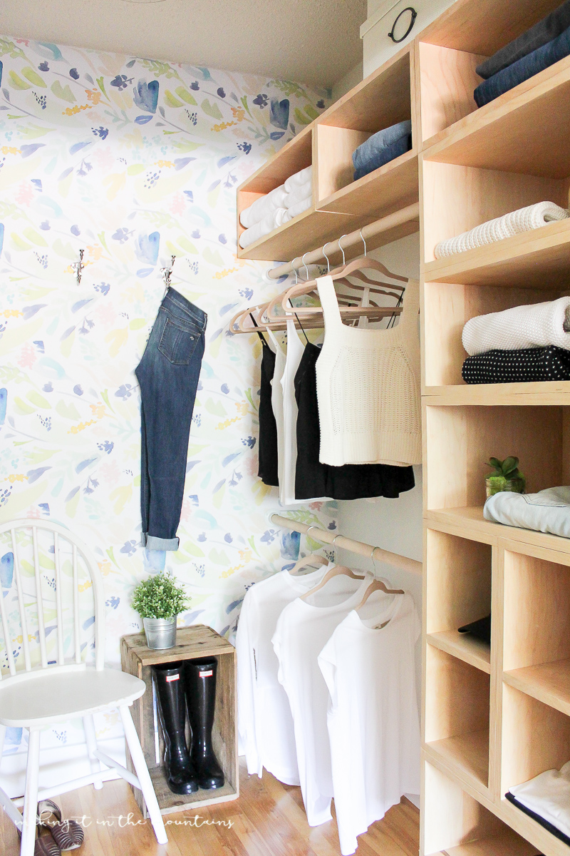 DIY Master Bedroom Closet: The Reveal
