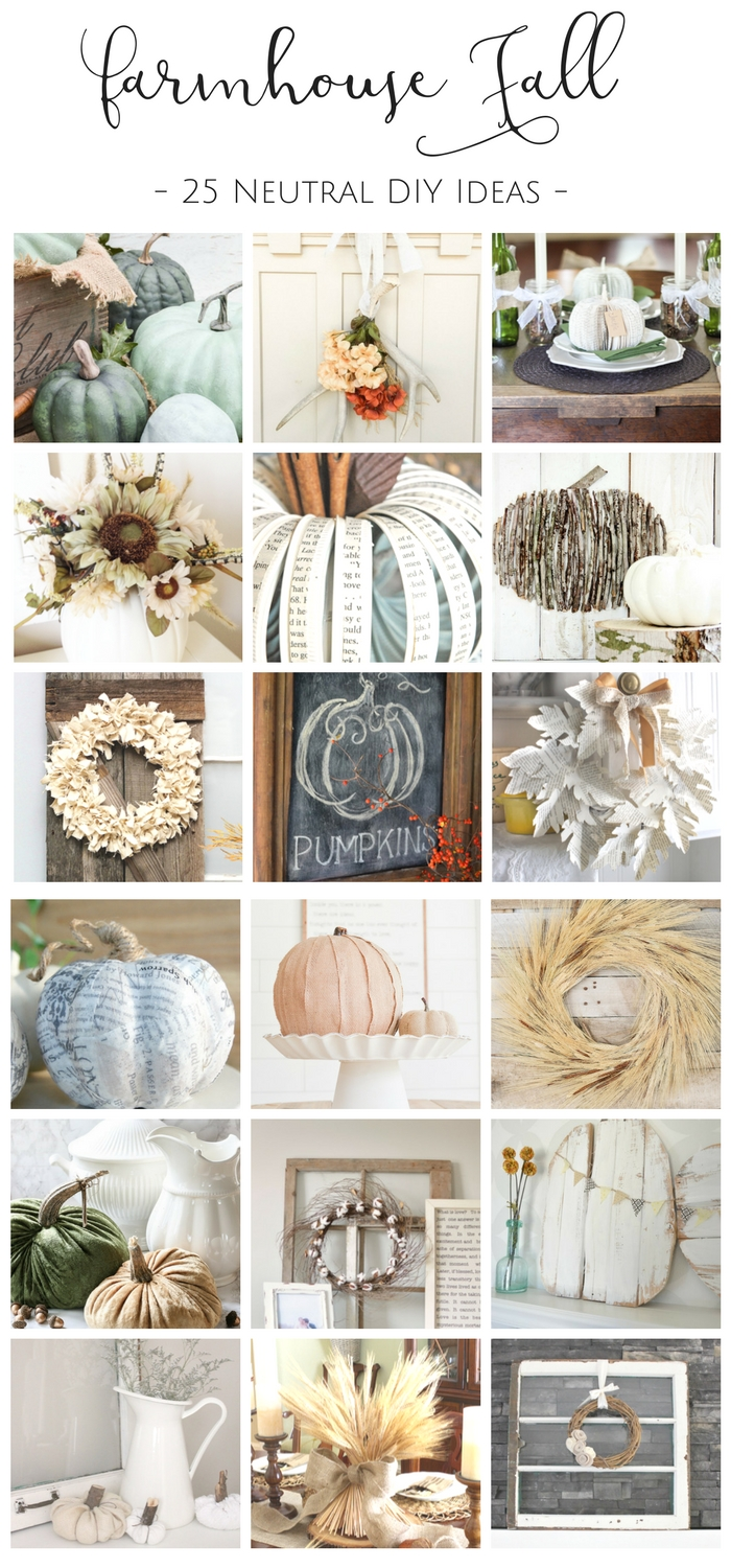 Country Mouse City Spouse Monday Mish Mash Link Party #37 Feature- How to Fill Your Home With Farmhouse Fall Decor Without Breaking the Bank: 25 Farmhouse Style DIY Projects to Try This Fall @ Making it in the Mountains