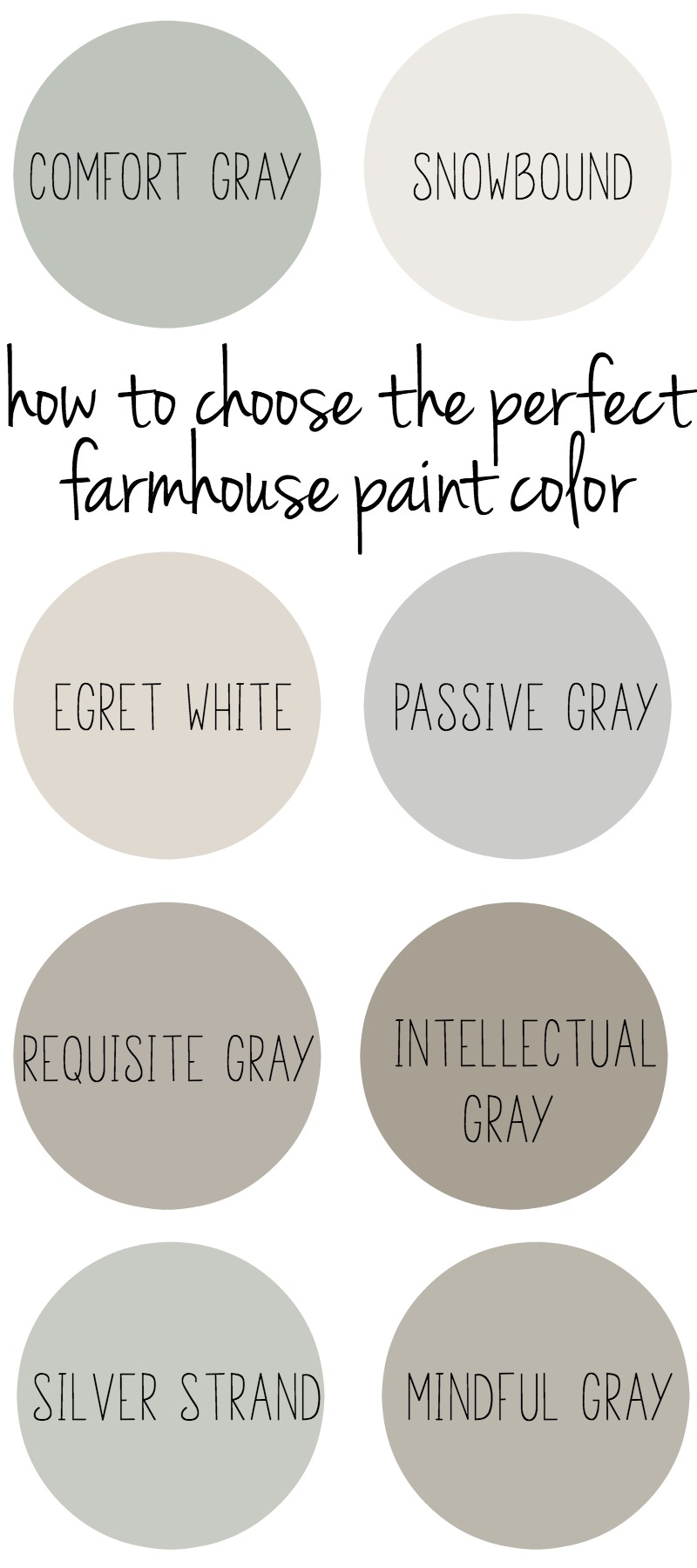 Fanciful How To Choose Farmhouse Style Paint How To Choose Farmhouse Paint Colors Silver Strand Paint Color Sherwin Williams Silver Strand Paint Sw houzz 01 Silver Strand Paint