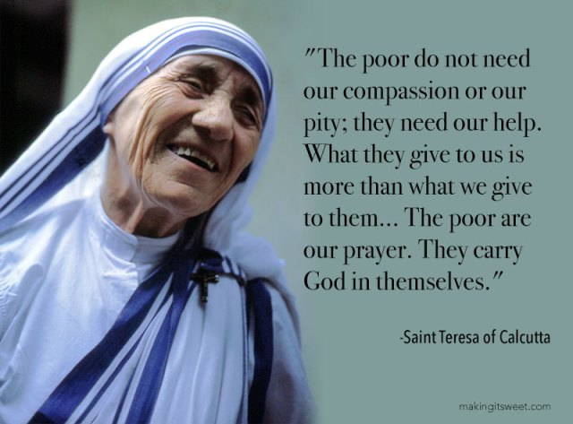 makingitsweet_st_teresa_of_calcutta