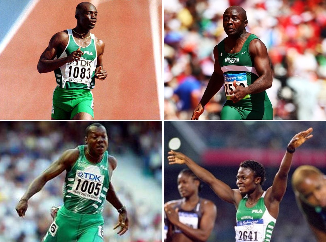 FOUR Coaches for Top Sprinter