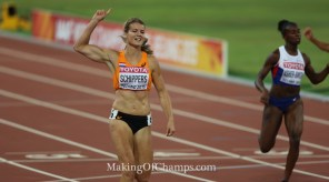 Schippers stormed to the 200m title in the world's 3rd fastest time ever. (Photo Credit: Making of Champions/PaV Media)