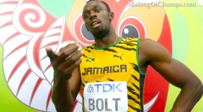 "Usain Bolt's response to ""Gatlin Made a Mistake"""