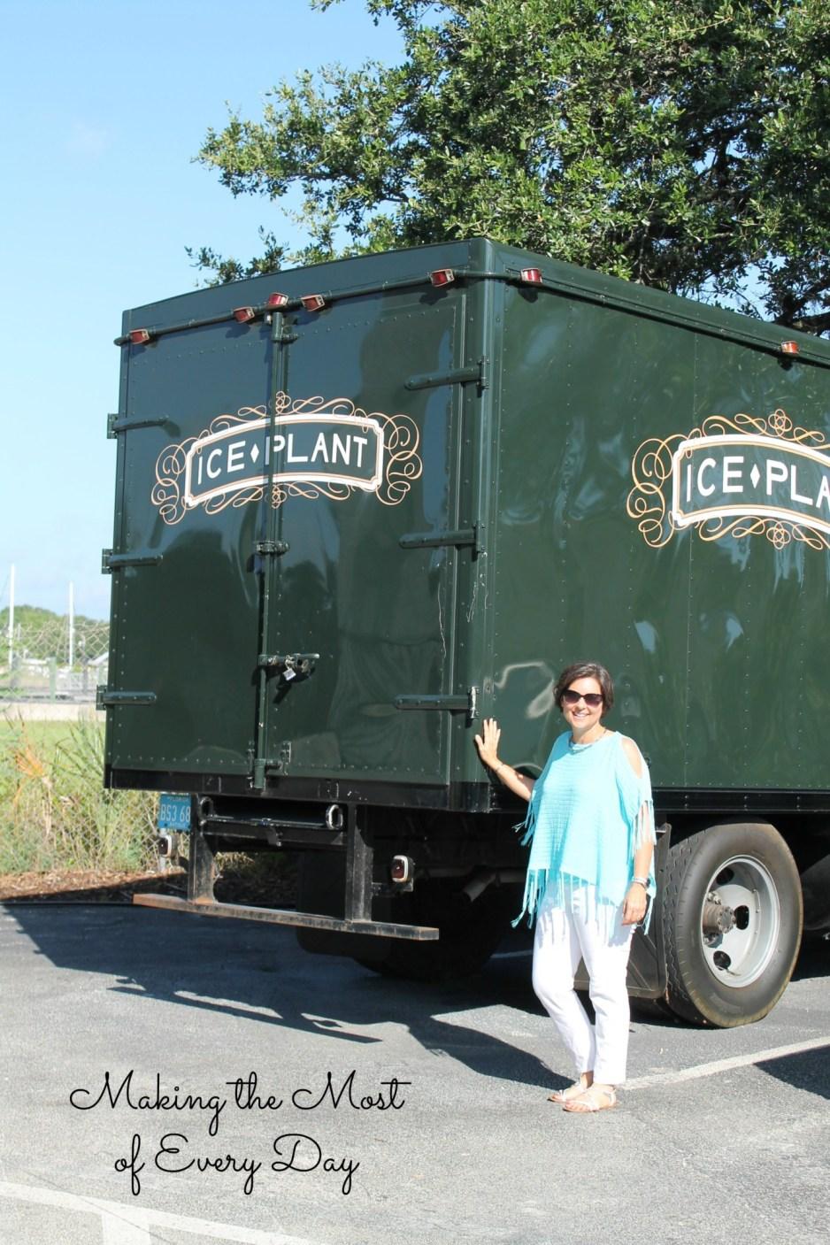 ice plant truck