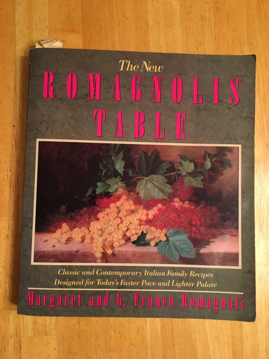 The cookbook that taught me to cook my favorite Italian recipe!