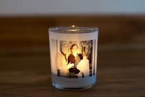 Make an Illuminated Photo Votive Candle