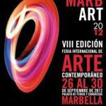 Marb Art 2012 – Art Fair in Marbella from September 26 to 30