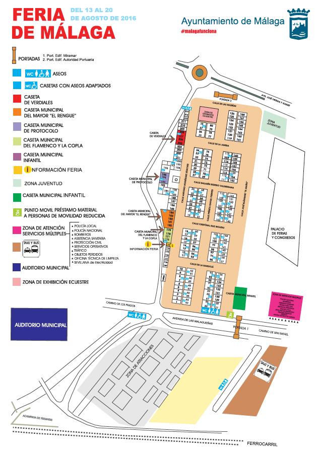 Fairground map 2016