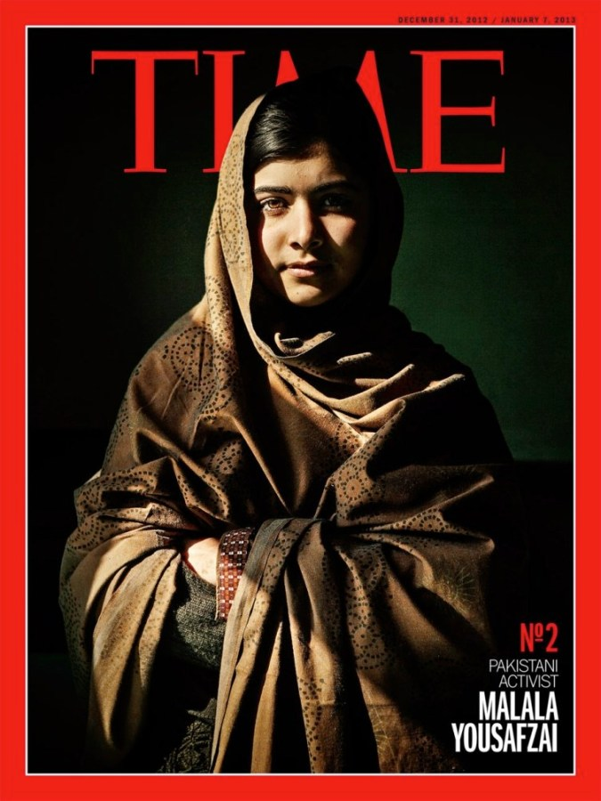 Time's magazine frontpage