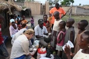 Standley Adriko malaria Uganda 2010