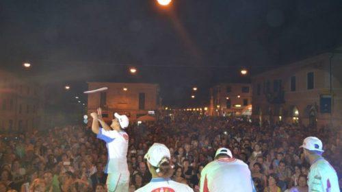 A San Lorenzo la Nazionale Acrobati Pizzaioli e la focaccia laurentina