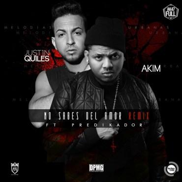 Akim Ft.  Justin Quiles Y Predikador - No Sabes Del Amor (Official Remix)