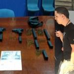 Video: Arrestan reguetonero luego de ocuparle armas en discoteca de San Juan