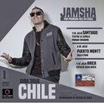 Jamsha por primera vez en Chile