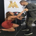 Chanty Vargas le pide matrimonio a Maluma