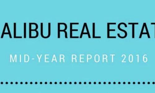 Malibu Real Estate Market Report: Mid-Year Update 2016