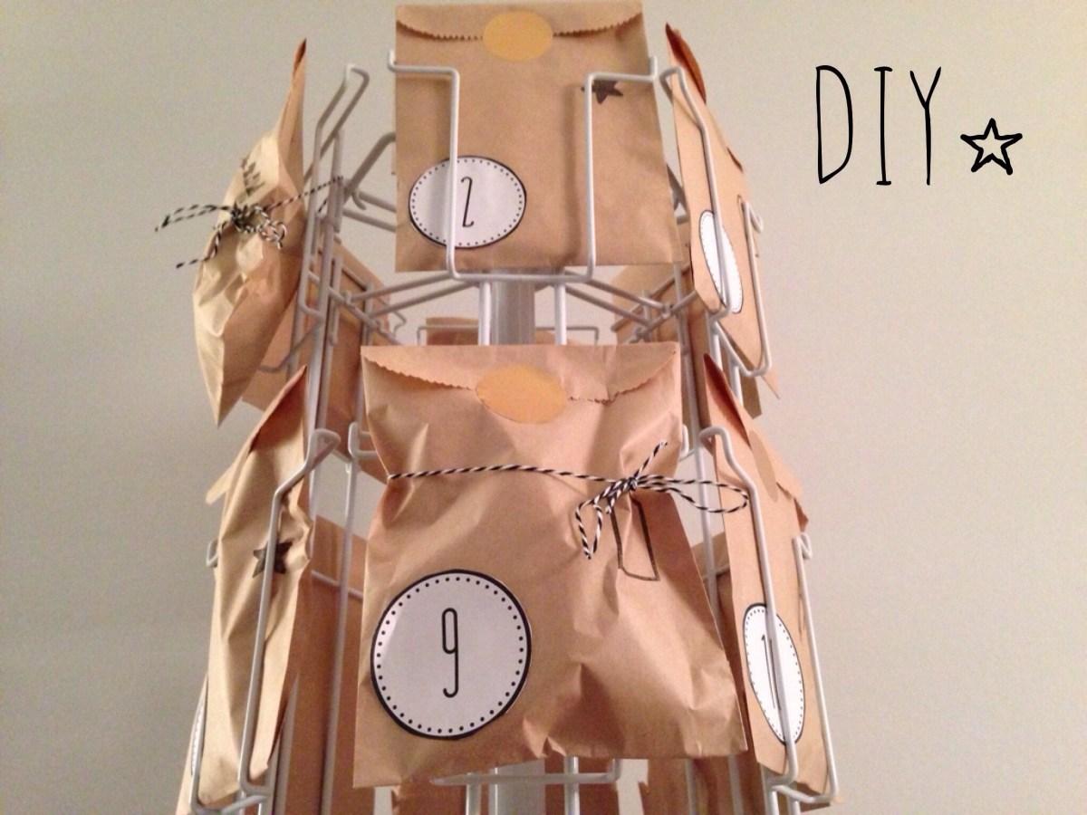 calendrier de l'Avent minute [DIY]