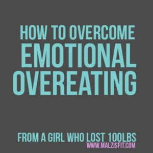overcome emotional eating and overeating
