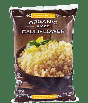 trader joe's cauliflower rice iifym