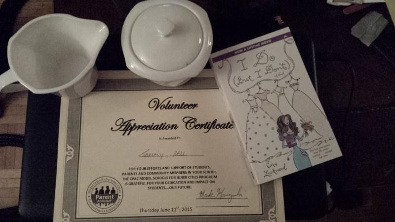 Parent Volunteer Appreciation Night