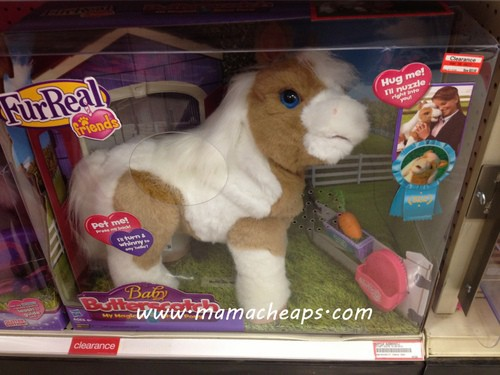 furreal friends baby butterscotch horse