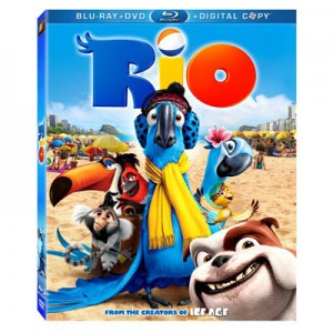 RIO en Blu-ray y DVD el 2 de Agosto. SORTEO