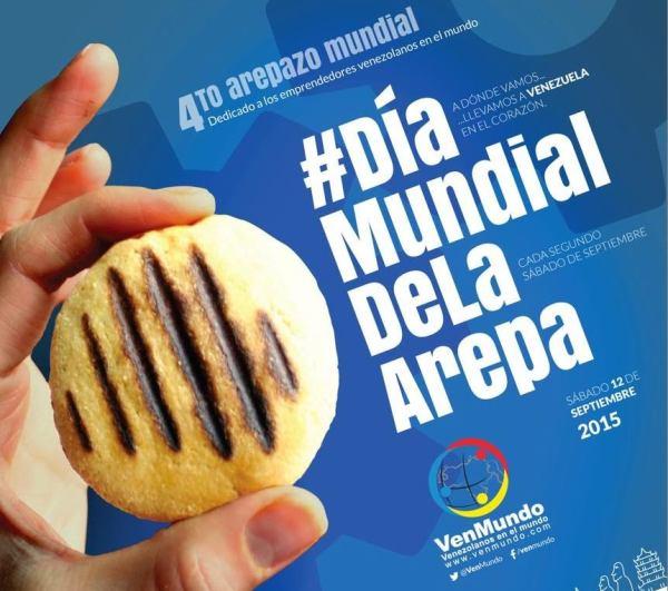 Dia Mundial de la Arepa 2015