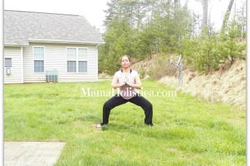 """Postura de Yoga """"El Templo"""""""