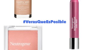 Ganadora del Sorteo de un Kit de Maquillaje Neutrogena® #VerasQueEsPosible