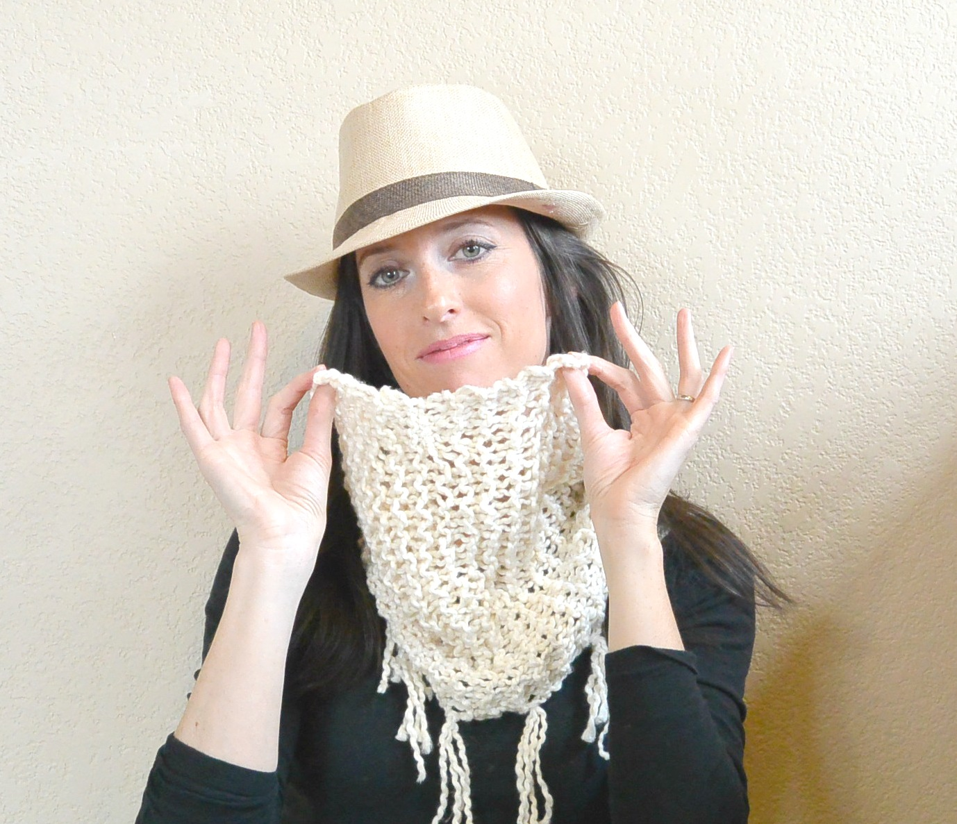 Easiest Knit   Hip Spring Scarf Mama In A Stitch