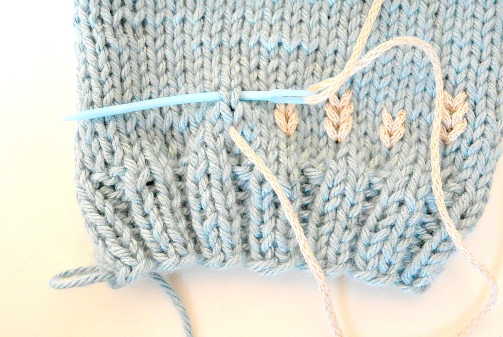 Light Knit Easy Fingerless Gloves