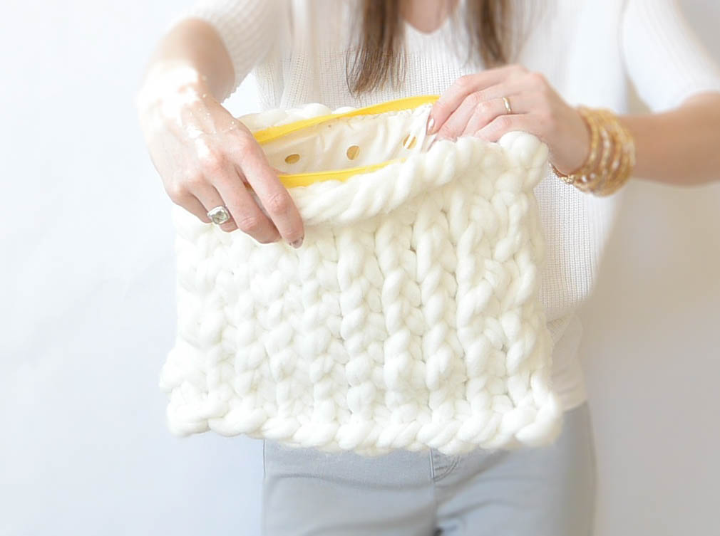 Easy Knitting Pattern For Bag : simple knit, crochet & artsy things
