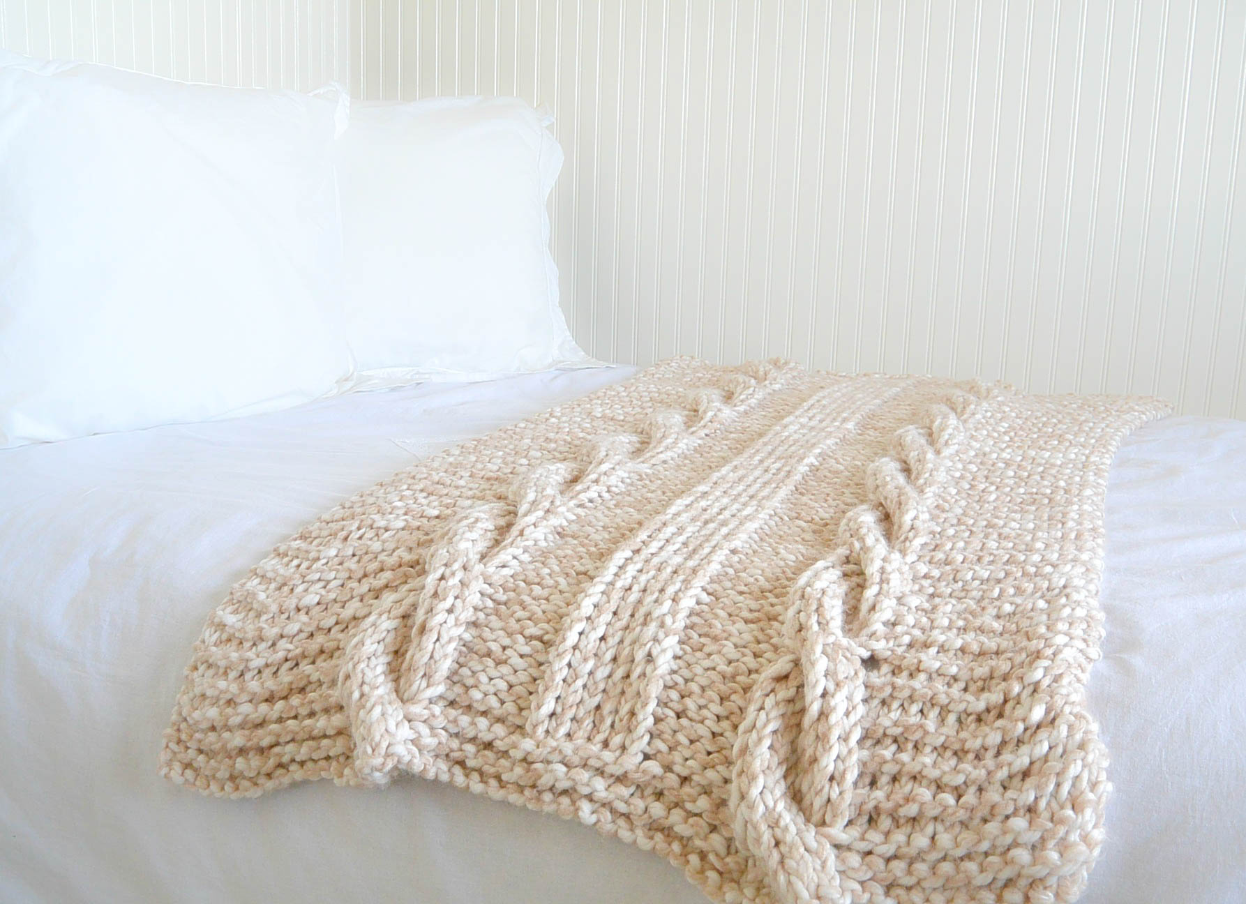 Fullsize Of Cable Knit Blanket